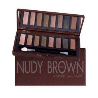 Mistine Nudy Brown Complete Eye Palette อายเชโดว์ 8 เฉดสีโทนน้ำตาลธรรมชาติ 1 ชิ้น