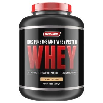 NAR LABS™ 100% Pure Instant Whey Protein 5 lbs - Vanilla Flavour