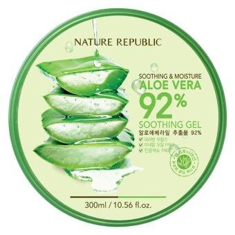 Nature Republic Soothing Moisture Aloe Vera 92 Soothing Gel 300ml