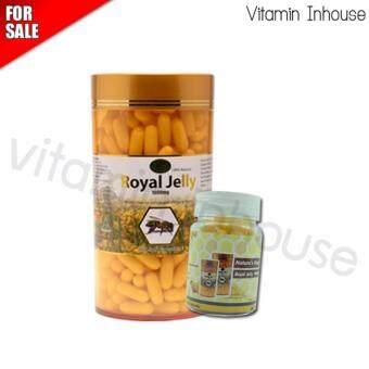 นมผึ้ง Nature's King Royal Jelly 1000 mg. (แบ่งขาย 30 capsules)
