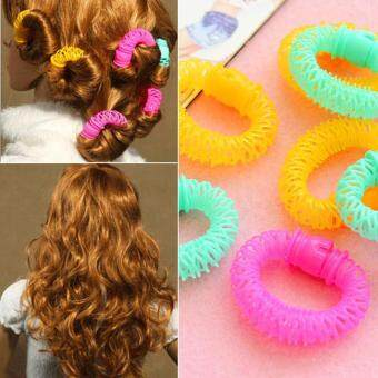 Harga New DIY Hair Curlers Donut Roll Fast Small 8pcs/lot CurlingHairdressing
