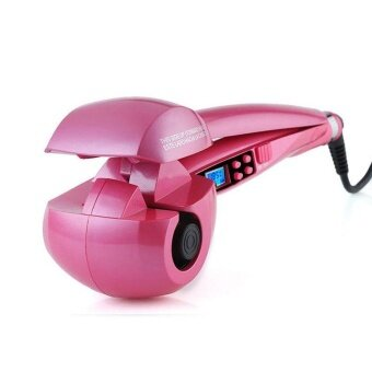 ประกาศขาย New Patented Digital Stem Spray Hair Curler Automatic Curling Hair Steam Automatic Hair Device EU Plug 110-240V - intl