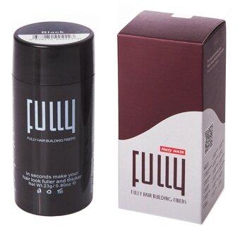 โปรโมชั่นพิเศษ NiftyWell Fully Hair Building Fibers Black ไฟเบอร์ปิดผมบาง 23g. - สีดำ