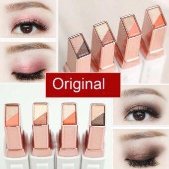 สนใจซื้อ #No.03 อายแชโดว์ทูโทนสีสวย Novo EyeShadow Stick แท้ 100%