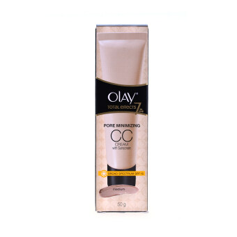 Olay ซีซีครีม Total Effect 7 in 1 Pore Minimizing CC Cream SPF 15สี Medium