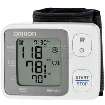 อยากขาย Omron เครื่องวัดความดันโลหิตข้อมือ HEM-6131 1เครื่อง