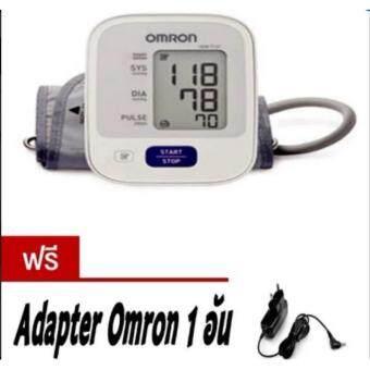 Omron เครื่องวัดความดัน รุ่น HEM-7121 แถมฟรี Adapter omronแท้(รับประกัน5ปี Lot ใหม่ล่าสุด) ซีลพลาสติก