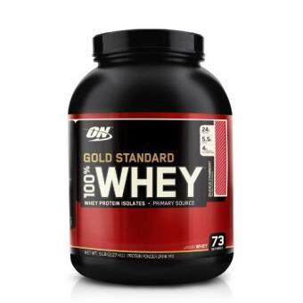 Harga Optimum Nutrition Gold Standard 100% Whey Delicious strawberry (5lbs.)