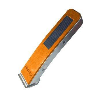 2560 Orbia ปัตตาเลี่ยนตัดผมชาร์ตไฟฟ้าหรือพลังงานแสงอาทิตย์รุ่น KM-578 (สีส้ม)