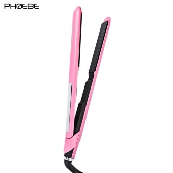 2560 PHOEBE LM - 132 Professional LCD Display Temperature Adjustable Hair Straightener