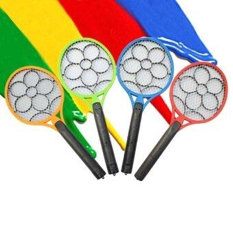 Popular Electronic Mosquito Fly Swatter Racket Handheld Swat Killer Rechargeable - intl