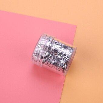 Popular Fashion Nail Art Organic ProGlitters Ultrafine Color Glitters Cosmestic Gift - intl