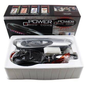 Power Grow Comb หวีเลเซอร์ รักษาผมร่วง พร้อมชุดดูแลเส้นผม - 2