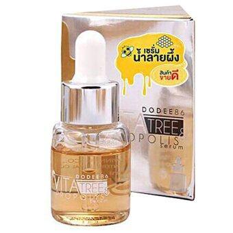 Propolis เซรั่ม น้ำลายผึ้ง สีเหลือง หยดทอง สูตรแรกผิวบอบบาง ให้ผิวกลับมาแข็งแรง ชุ่มชื้น (15มล.)