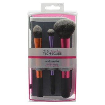 Harga Real Techniques แปรงแต่งหน้า Travel Essentials Brush Set