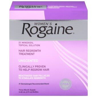 Rogaine ยาปลูกผมผู้หญิง Women Rogaine Lotion 2% Minoxidil (ชุด 3 เดือน)