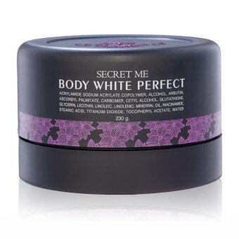 Harga Secret me Body White Perfect (Black)