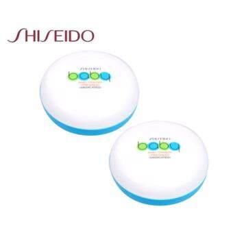 Shiseido Baby Powder Pressed Medicated 50g. (แพคคู่) แป้งเด็กอัดแข็ง