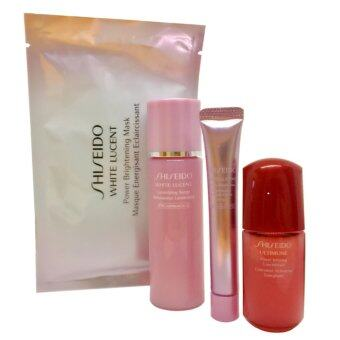 Harga SHISEIDO Set White Lucent Ultimune 4 ชิ้น