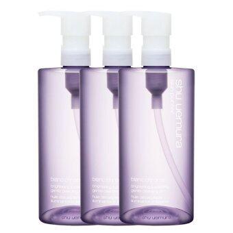 ประเทศไทย Shu Uemura Skin Purifier Blanc Chroma Brightening and Polishing Gentle Cleansing Oil ช่วยขจัดเครื่องสำอางและสิ่งสกปรก 50ml (3 ขวด)