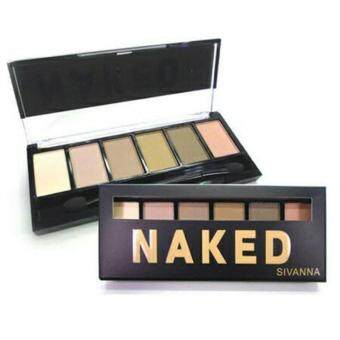 Harga Sivanna Colors 6 Color Eyeshadow Palette (Naked)