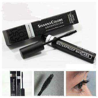 สนใจซื้อ Sivanna Colors Waterpoof Mascara มาสคาร่าสำหรับเพิ่มความยาวขนตา#สีดำ