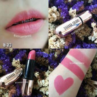SIVANNA Lipstick เนื้อแมท #3