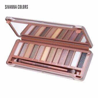 อยากขาย SIVANNA Story Classic Earthtone Eyeshadow Palette #02