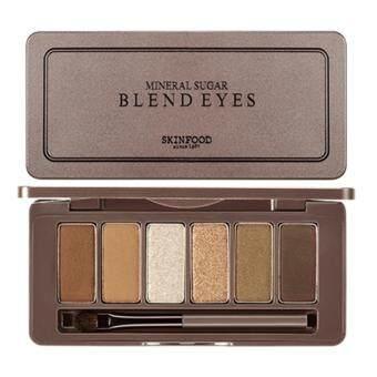 SkinFood Mineral Sugar Blend Eyes #2อายแชโดว์ 6 สี
