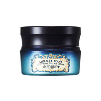 Skinfood MIRACLE FOOD 10 SOLUTION Dual Eye Cream (upper eye 15g / under eye 15g)