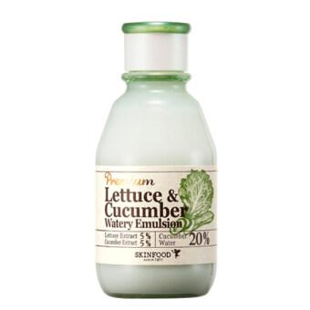 Skinfood Premium Lettuce & Cucumber Watery Emulsion 140 ml.