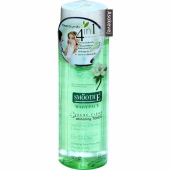 Harga Smooth E Acne Clear Whitening Toner 150ml (1ขวด)