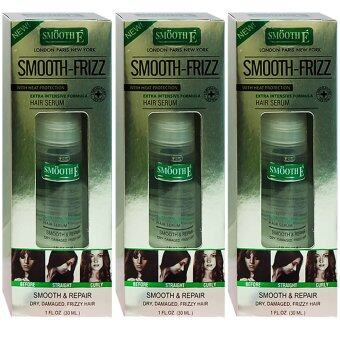 Harga Smooth E Frizz Hair Serum 30ml (3ขวด)