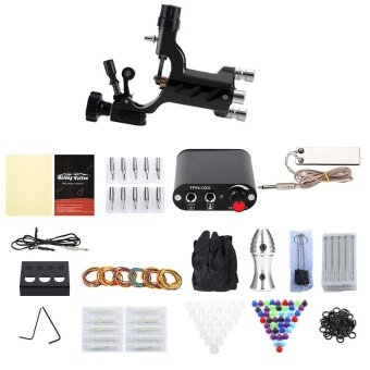 Solong Complete Tattoo Kit 1 Rotary Equipment Machine Tools Power Supply Disposable Needles for Beginner EU PLUG - intl