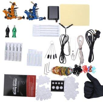 Solong Complete Tattoo Kit Power Supply 2 Top Machine Guns - intl