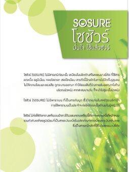 SOSURE แป้งสมุนไพรระงับกลิ่นกาย กลิ่นตัว กลิ่นเหงื่อ โซชัวร์(SOSURE) 20g (6 ชิ้น) - 4