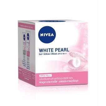 นีเวีย เอ็กซ์ตร้า ไวท์ เดย์ ครีม สูตรพอร์ มินิไมเซอร์ SPF30 (50 มล.) NIVEA Face White pearl Moist 50 ml.