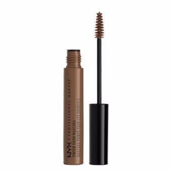 นิกซ์ โปรเฟสชั่นแนล เมคอัพ ทินท์ โบร์ว มาสคาร่า - TBM02 ช็อกโกแลต มาสคาร่าสำหรับคิ้ว NYX Professional Makeup Tinted Brow Mascara - TBM02 Chocolate Brow Mascara