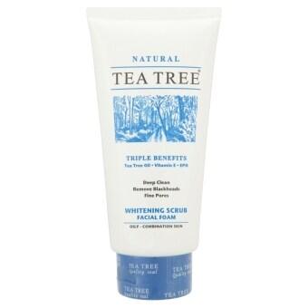 TEA TREE เฟเชียลสครับโฟม 4.8 ออนซ์
