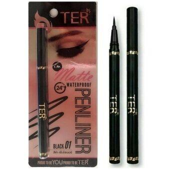 TER I'm Matte Waterproof Penliner Black อายไลน์เนอร์ สีดำ