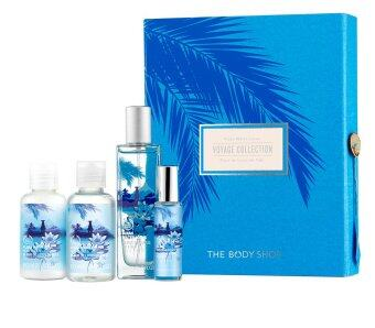 THE BODY SHOP ชุดของขวัญ FIJIAN WATER LOTUS DELIGHT GIFT BOX