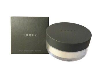 Three Ultimate Diaphanous Loose Powder 17g. (สี Glow 01)