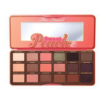 Harga Toofaced sweet peach eye shadow collection palette