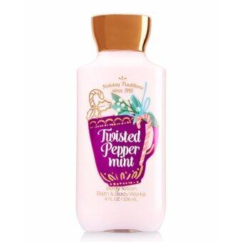 Harga Twisted Peppermint Body Lotion - Signature Collection - Bath &Body Works