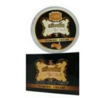 ViVi ครีมขมิ้น Tumeric Cream ครีมขมิ้นไพลสด ลดฝ้ากระ กลางคืน 10กรัม