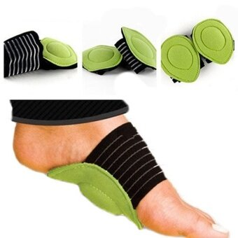 รีวิวพันทิป voovrof 2pcs Arch Support And Foot Massager Kit Plantar Fasciitis Cushion For Women And Men - intl