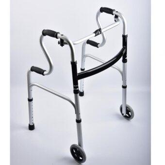 Walker วอล์คเกอร์ อุปกรณ์ช่วยเดิน 4 ขาและ 2 ล้อ สำหรับเปลี่ยน