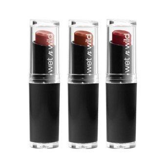 Wet N Wild Lipstick ลิปสติก เนื้อแมทท์ (แพ็ค 3) #912 #913 #915
