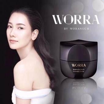 WORRA By Woranuchครีมนุ่น วรนุช วอร์ร่า บาย วรนุชไบรท์เทนนิ่ง เดย์ แอนด์ โอเวอร์ไนท์ ครีม Brightening Day &Overnight Cream 30ml.