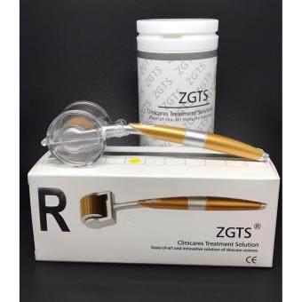 ZGTS Titanium Derma roller Sizes 1.0 mm เข็มกลิ้งรักษาหลุมสิว และ เพิ่มเรียบเนียน เดอมาโรลเลอร์